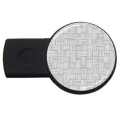 Flooring Household Pattern Usb Flash Drive Round (2 Gb) by Onesevenart