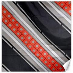 Bed Linen Microfibre Pattern Canvas 20  X 20   by Onesevenart