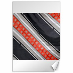 Bed Linen Microfibre Pattern Canvas 20  X 30   by Onesevenart