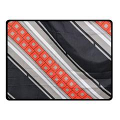 Bed Linen Microfibre Pattern Fleece Blanket (small) by Onesevenart