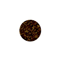 Camouflage Tarn Forest Texture 1  Mini Magnets
