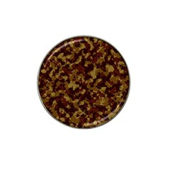 Camouflage Tarn Forest Texture Hat Clip Ball Marker (10 Pack) by Onesevenart