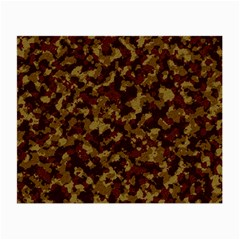 Camouflage Tarn Forest Texture Small Glasses Cloth (2 Side) by Onesevenart