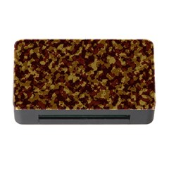 Camouflage Tarn Forest Texture Memory Card Reader With Cf by Onesevenart