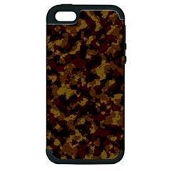 Camouflage Tarn Forest Texture Apple Iphone 5 Hardshell Case (pc+silicone) by Onesevenart
