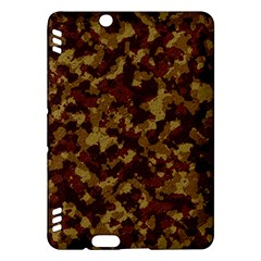 Camouflage Tarn Forest Texture Kindle Fire Hdx Hardshell Case by Onesevenart