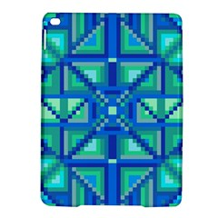 Grid Geometric Pattern Colorful Ipad Air 2 Hardshell Cases by Onesevenart