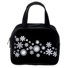 Flower Power Flowers Ornament Classic Handbags (one Side) by Onesevenart