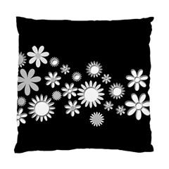Flower Power Flowers Ornament Standard Cushion Case (two Sides) by Onesevenart