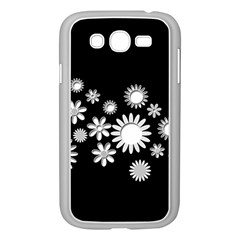 Flower Power Flowers Ornament Samsung Galaxy Grand Duos I9082 Case (white) by Onesevenart