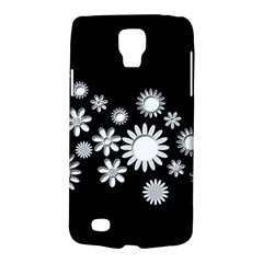 Flower Power Flowers Ornament Galaxy S4 Active by Onesevenart