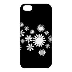 Flower Power Flowers Ornament Apple Iphone 5c Hardshell Case by Onesevenart