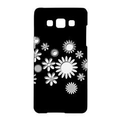 Flower Power Flowers Ornament Samsung Galaxy A5 Hardshell Case  by Onesevenart