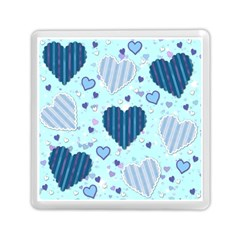 Hearts Pattern Paper Wallpaper Memory Card Reader (square)  by Onesevenart