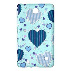 Hearts Pattern Paper Wallpaper Samsung Galaxy Tab 4 (8 ) Hardshell Case  by Onesevenart