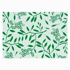 Leaves Foliage Green Wallpaper Large Glasses Cloth by Onesevenart