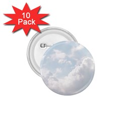 Light Nature Sky Sunny Clouds 1 75  Buttons (10 Pack) by Onesevenart