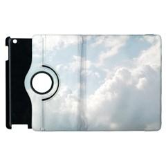 Light Nature Sky Sunny Clouds Apple Ipad 2 Flip 360 Case by Onesevenart