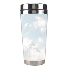 Light Nature Sky Sunny Clouds Stainless Steel Travel Tumblers by Onesevenart