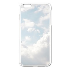 Light Nature Sky Sunny Clouds Apple Iphone 6 Plus/6s Plus Enamel White Case by Onesevenart