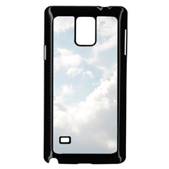 Light Nature Sky Sunny Clouds Samsung Galaxy Note 4 Case (black) by Onesevenart