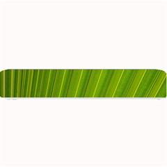 Green Leaf Pattern Plant Small Bar Mats by Onesevenart