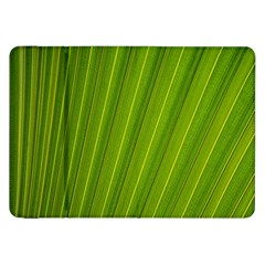 Green Leaf Pattern Plant Samsung Galaxy Tab 8 9  P7300 Flip Case by Onesevenart