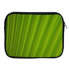 Green Leaf Pattern Plant Apple Ipad 2/3/4 Zipper Cases by Onesevenart