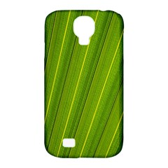 Green Leaf Pattern Plant Samsung Galaxy S4 Classic Hardshell Case (pc+silicone) by Onesevenart