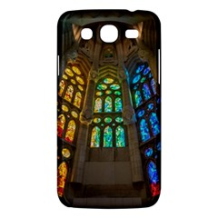 Leopard Barcelona Stained Glass Colorful Glass Samsung Galaxy Mega 5 8 I9152 Hardshell Case  by Onesevenart