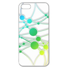 Network Connection Structure Knot Apple Seamless Iphone 5 Case (clear) by Onesevenart
