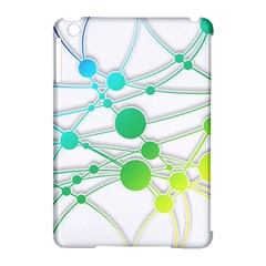 Network Connection Structure Knot Apple Ipad Mini Hardshell Case (compatible With Smart Cover) by Onesevenart