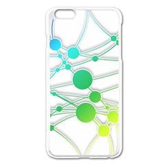 Network Connection Structure Knot Apple Iphone 6 Plus/6s Plus Enamel White Case by Onesevenart