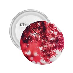 Maple Leaves Red Autumn Fall 2 25  Buttons by Onesevenart