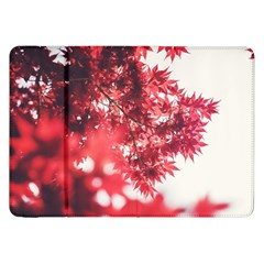 Maple Leaves Red Autumn Fall Samsung Galaxy Tab 8 9  P7300 Flip Case by Onesevenart