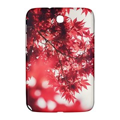Maple Leaves Red Autumn Fall Samsung Galaxy Note 8 0 N5100 Hardshell Case  by Onesevenart