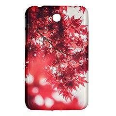 Maple Leaves Red Autumn Fall Samsung Galaxy Tab 3 (7 ) P3200 Hardshell Case  by Onesevenart