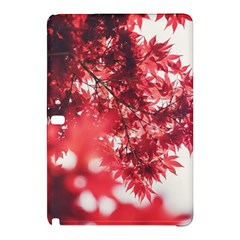 Maple Leaves Red Autumn Fall Samsung Galaxy Tab Pro 12 2 Hardshell Case by Onesevenart