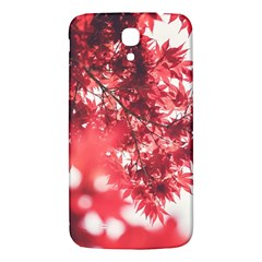 Maple Leaves Red Autumn Fall Samsung Galaxy Mega I9200 Hardshell Back Case by Onesevenart