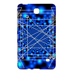 Network Connection Structure Knot Samsung Galaxy Tab 4 (8 ) Hardshell Case  by Onesevenart