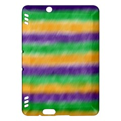 Mardi Gras Strip Tie Die Kindle Fire Hdx Hardshell Case by PhotoNOLA