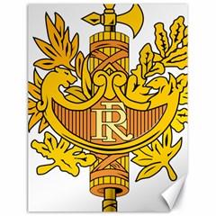 National Emblem Of France  Canvas 18  X 24   by abbeyz71
