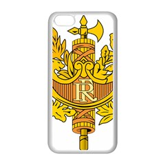 National Emblem Of France  Apple Iphone 5c Seamless Case (white) by abbeyz71