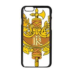 National Emblem Of France  Apple Iphone 6/6s Black Enamel Case by abbeyz71