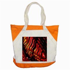 Fractal Mathematics Abstract Accent Tote Bag by Onesevenart