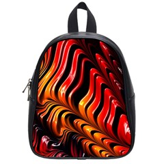 Fractal Mathematics Abstract School Bags (small)  by Onesevenart
