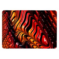 Fractal Mathematics Abstract Samsung Galaxy Tab 8 9  P7300 Flip Case by Onesevenart