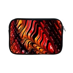 Fractal Mathematics Abstract Apple Ipad Mini Zipper Cases by Onesevenart
