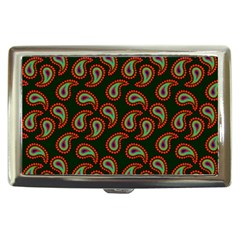 Pattern Abstract Paisley Swirls Cigarette Money Cases by Onesevenart