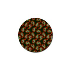 Pattern Abstract Paisley Swirls Golf Ball Marker (10 Pack) by Onesevenart